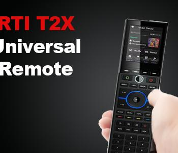 product photo of an RTI universal remote