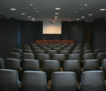 image of an empty theater