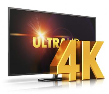 product photo of an ultra 4k tv